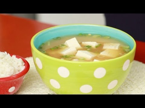 Japanese Miso Soup with Tofu Recipe