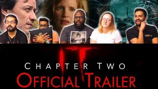 IT Chapter 2 - Official Trailer - Group Reaction