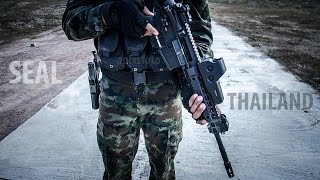 SEAL Thailand Weapon Training
