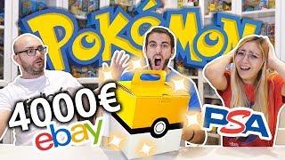 APRO LA MYSTERY BOX DEI POKEMON DA 4000€