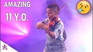 Tyler Butler-Figueroa: Cancer Survivor Kid WOWS Simon With His Violin!😲  America's Got Talent 2019