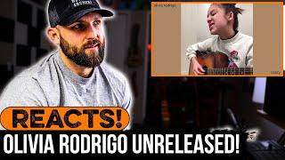 MUSICIAN REACTS to UNRELEASED Olivia Rodrigo Songs!!!