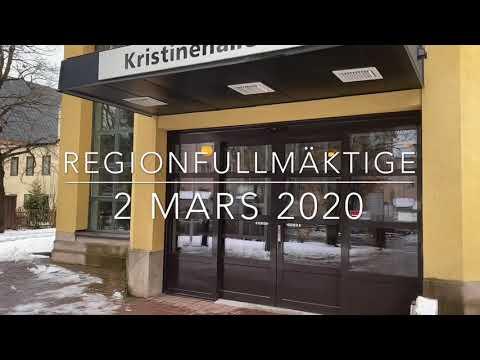 Sammanfattning av regionfullmäktige 2 mars 2020