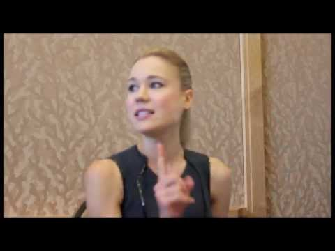 Being Human - Kristen Hager Interview - YouTube