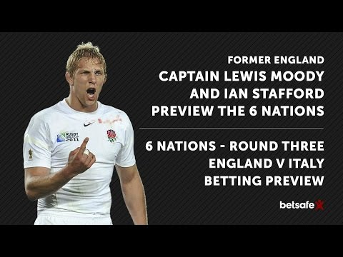 England v Italy 6 Nations Preview - Lewis Moody