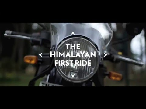 Royal Enfield #Himalayan – First Ride Trailer