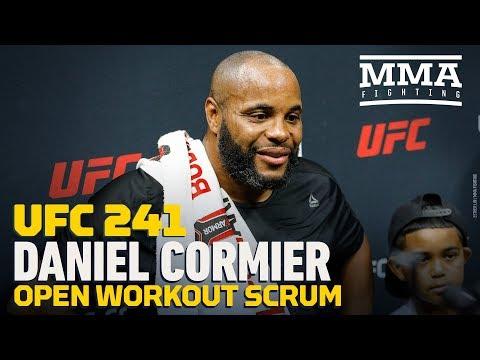 """Daniel Cormier przed UFC 241: """"Mam nadzieję, że Stipe pójdzie na zabój."""""""