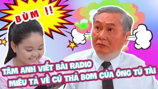 Tâm Anh viết bài Radio miêu tả về cú thả bom của ông Tú Tài   Đẹp TV