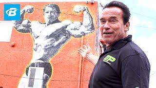 Arnold Schwarzenegger's Venice Beach Car Tour   Arnold Schwarzenegger's Blueprint Training Program