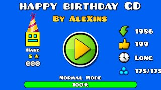 Happy birthday Geometry Dash 🎂