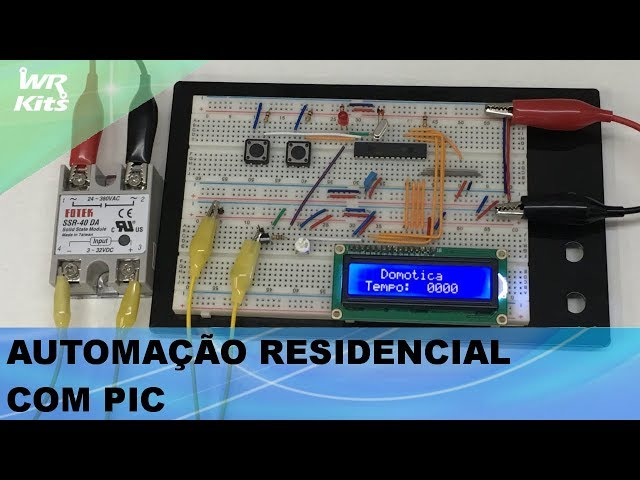 AUTOMAÇÃO RESIDENCIAL SIMPLES COM PIC