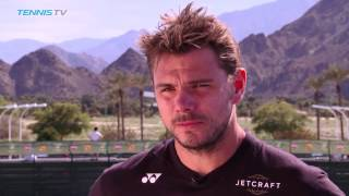Interview: Wawrinka Looks Beyond Tough Draw