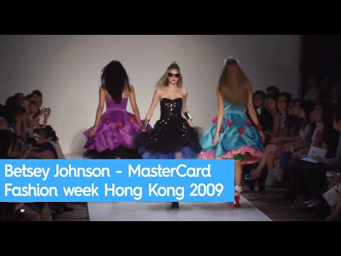 Betsey Johnson - MasterCard Fashion week Hong Kong 2009