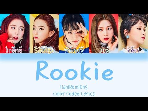Red Velvet - Rookie [HAN ROM ENG Color Coded Lyrics]