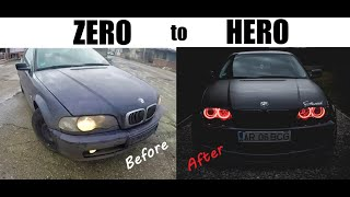 Building a BMW e46 Coupe in 10 Minutes