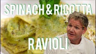 Spinach and Ricotta Ravioli - PTMTR