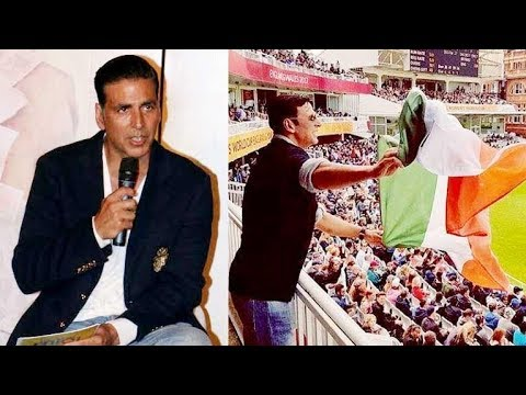 Akshay Kumar gives An Explanation On His Indian Flag Controversy