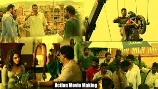 Vishal's Action Movie Making