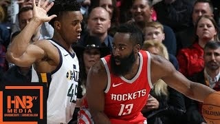 Houston Rockets vs Utah Jazz Full Game Highlights / Feb 26 / 2017-18 NBA Season
