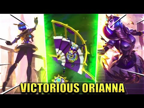 VICTORIOUS ORIANNA Free Skin Gameplay Preview & All Season 8 2018