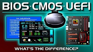 BIOS, CMOS, UEFI - What's the difference?
