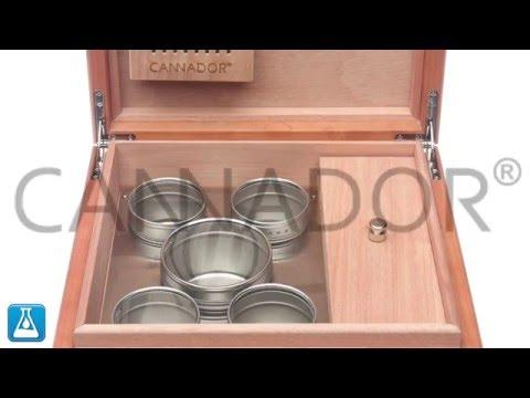 Cannador® - 5 Strain Cannabis Humidor