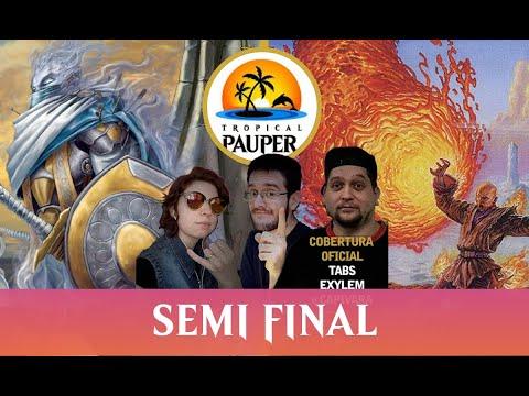 Mardu Monarch VS Mono Red Burn - Tropical Pauper 0.09 - Semi Final