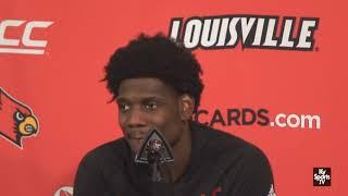 Louisville Basketball Darius Perry on WIN vs Vermont