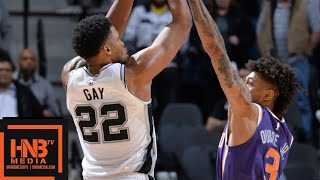 San Antonio Spurs vs Phoenix Suns Full Game Highlights | 01/29/2019 NBA Season