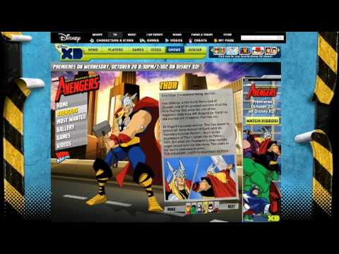 The Avengers Website