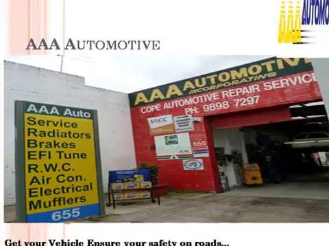 Car Service Kew - AAA Automotive