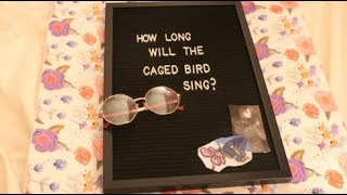 You are free | How Long will a Caged Bird Sing Poem by Grace