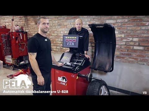 Automatisk däckbalanserare U-828 från Verktygsboden