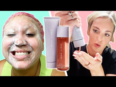 We Tried Rihanna's Fenty Skincare Line