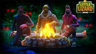 DON'T CAMP IN WAILING WOODS AT 3AM! - FORTNITE SHORT FILM