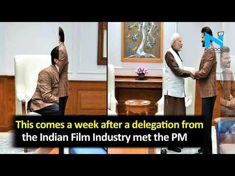 Why Anil Kapoor met PM Modi in Delhi?
