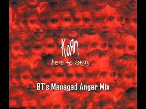 Baixar Korn - Here To Stay (BT's Managed Anger Mix)
