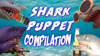 SHARK PUPPET COMPILATION 2
