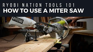 12 In Sliding Compound Miter Saw With Laser Ryobi Tools
