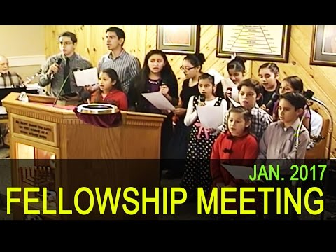 Fellowship Meetings