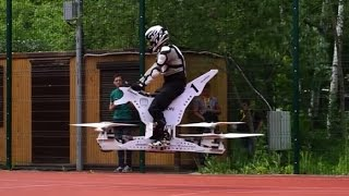 Uçan Bisiklet İcat Edildi
