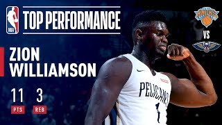 Zion Williamson EXCITES The Vegas Crowd In NBA Summer League Debut | July 5, 2019