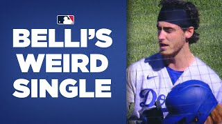 Home Run? Single? Out? Cody Bellinger has confusing hit for Dodgers!