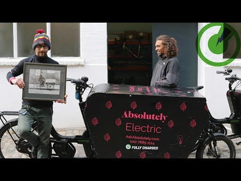 Electric Cargo Bikes for Business - The Courier