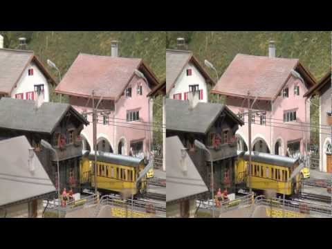 Sony HDR-TD10 Switzerland Scale 1:87 H0 HD 3D (yt3d)