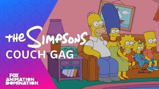 """Couch   Gag from """"Simpsorama"""" 