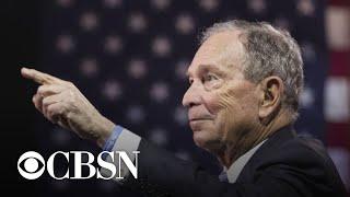 Bloomberg qualifies for Democratic debate in Nevada