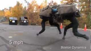Четвероногий робот Новейшие военные разработки