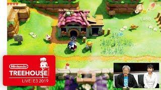 The Legend of Zelda: Link's Awakening Gameplay - Nintendo Treehouse: Live   E3 2019