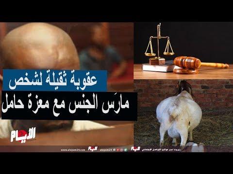 عقوبة ثقيلة لشخص مارَس الجنس مع معزة حامل